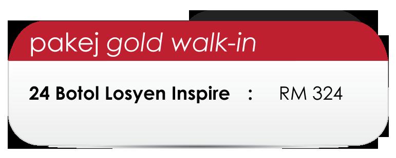 Pakej-Gold-Walk-in