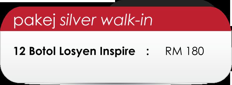 Pakej-Silver-Walk-in